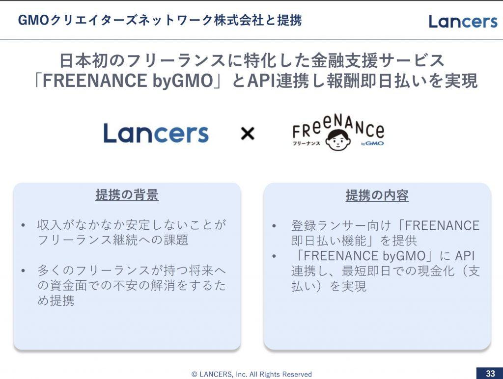 ランサーズ:GMOクリエイターズネットワーク株式会社と提携