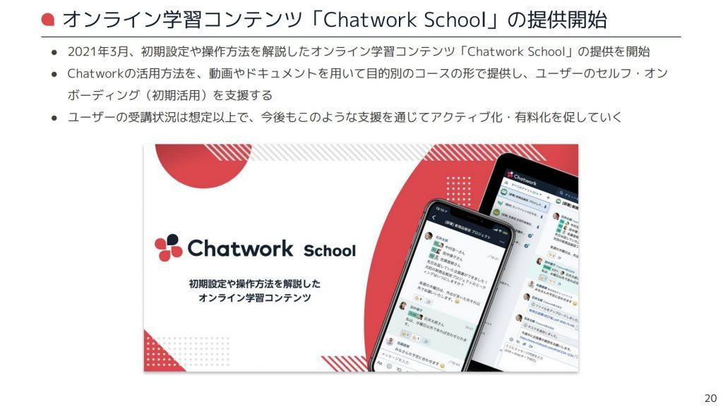 chatwork:オンライン学習コンテンツ「Chatwork School」の提供開始
