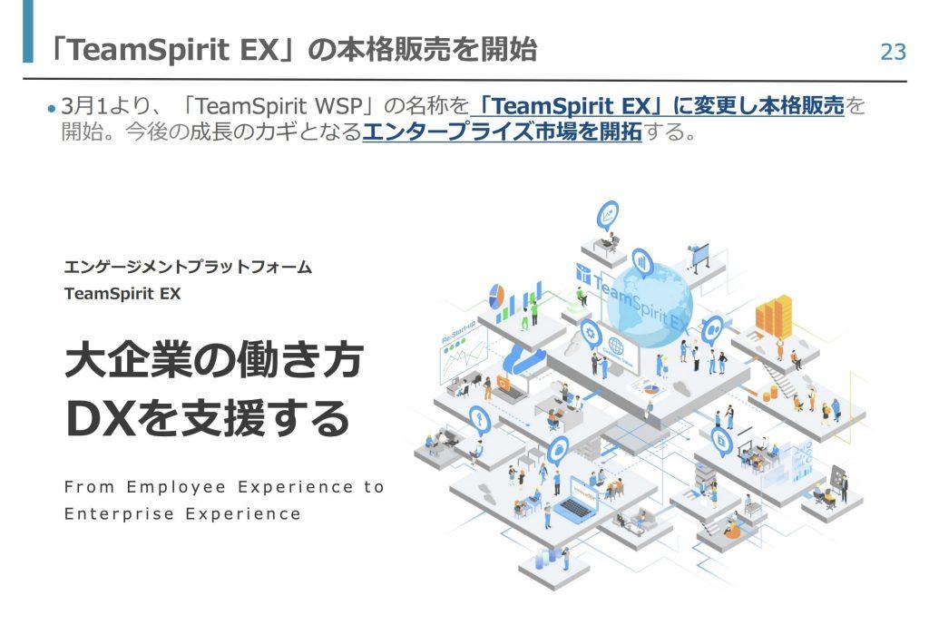 teamspirit:事業トピック