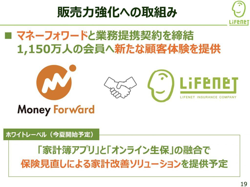 ライフネット生命:販売力強化への取組み